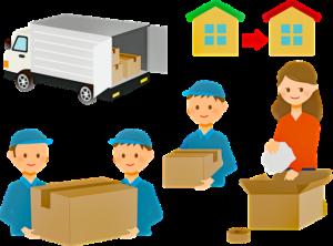 Przeprowadzka - pomoc firmy przeprowadzkowej